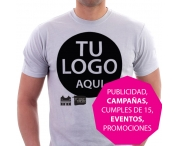 T-shirt printed with your logo, phrase or design