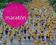 Camiseta deportiva, maraton solidaria, set deportivo (tipo dry fit) evento sublimada (precio 50u.)